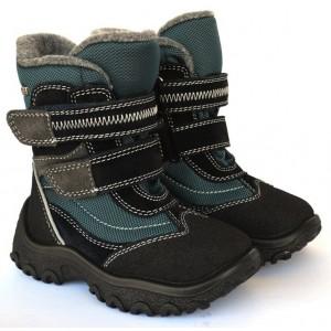 Ботинки на мембране Floare 2807491830 бирюзовые