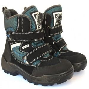 Ботинки на мембране Kapika 3903231840 бирюзовые