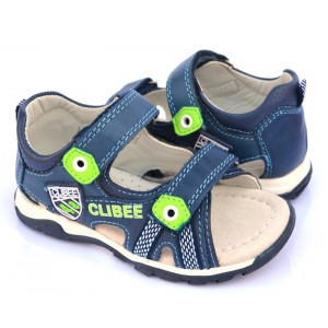 Босоножки Clibee F-254 Blue-Apple-Green 26-31р