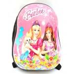 Детский пластиковый рюкзак 12-Barbie 31см