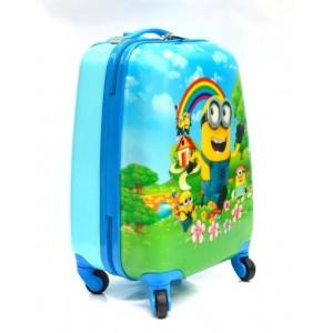 Детский чемодан 16-Minions 45см. Миньоны