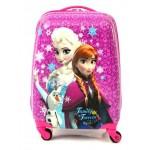 Детский чемодан 16-Sisters Forever-2. Розовый 45см