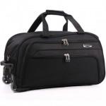 Дорожная сумка на колесах MERCURY 41100 черная 58x32x31см