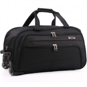 Дорожная сумка на колесах MERCURY 41100 черная 53x29x29см