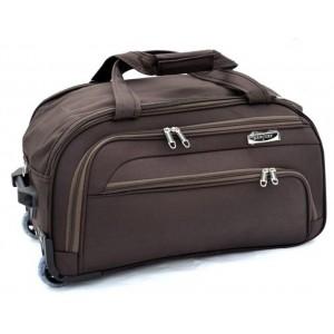 Дорожная сумка на колесах MERCURY 41100 коричневая 66x34x35см