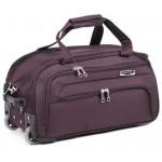 Дорожная сумка на колесах MERCURY 41100 бордовая 48x28x28см