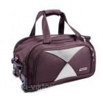 Дорожная сумка на колесах MERCURY 41300 бордовая 53x29x29см