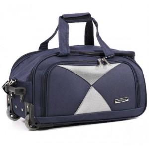 Дорожная сумка на колесах MERCURY 41300 синяя 53x29x29см