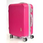 Чемодан пластиковый China 503 Розовый 52x33x22см