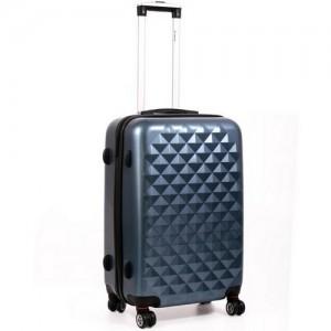 Пластиковый чемодан MERCURY из поликарбоната 11400 синий 51x31x20см
