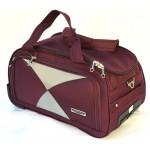 Дорожная сумка на колесах MERCURY 41300 бордовая 48x28x28см