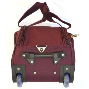 Дорожная сумка на колесах MERCURY 41300 бордовая 66x34x35см