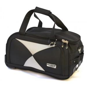 Дорожная сумка на колесах MERCURY 41300 черная 48x28x28см