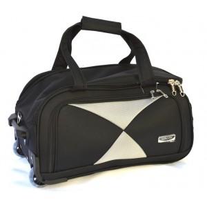 Дорожная сумка на колесах MERCURY 41300 черная 53x29x29см