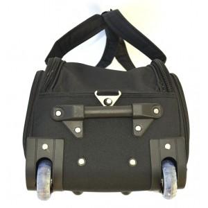 Дорожная сумка на колесах MERCURY 41300 черная 66x34x35см