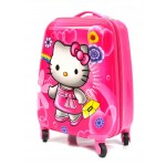 Детский чемодан 16-Hello Kitty 45см