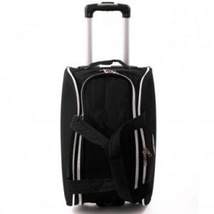 Дорожная сумка на колесах MERCURY 41460 черная 58x36x41см