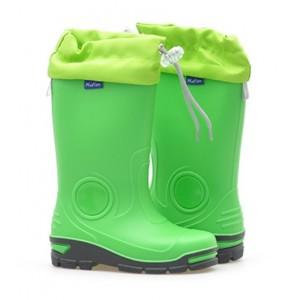Резиновые сапоги Muflon 33-487 (зеленые)