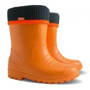 Резиновые сапоги DEMAR DINO c (оранжевые)