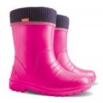 Резиновые сапоги DEMAR DINO f (розовые)