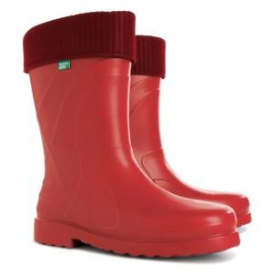 Резиновые сапоги DEMAR LUNA c (красные)