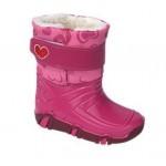 Демисезонные сапоги Zetpol Winter 02 розовые