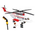 Конструктор Sluban 0363 Вертолет. 259 деталей