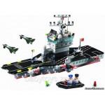 Конструктор Brick 826 Авианосец, 508 деталей