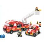 Конструктор SLUBAN 0223 Пожарные спасатели. 363 деталей