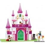Конструктор SLUBAN 0153 Розовая мечта. Замок,  271 детали