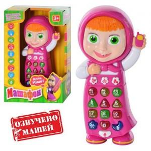 Телефон Маша и Медведь на украинском языке 1598 U I