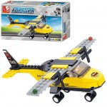 Конструктор SLUBAN M38-B0360  авиация,  самолет,  фигурка, 110 дет