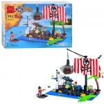 Конструктор BRICK 302/298780  Пиратская серия,  238дет,  фигурки