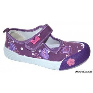 Мокасины SUPER GEAR A9228 lilac