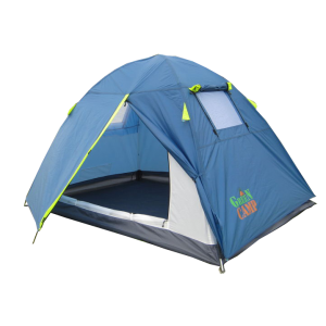 Палатка 2-х местная Green Camp 1001b синяя