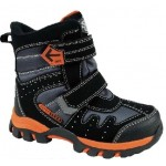 Термоботинки SUPER GEAR B211 black/orange