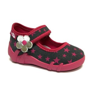 Renbut 13-139 Amarantowe gwiazdki - Розовые звезды, тапочки для девочек