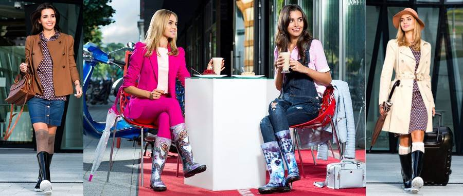 женская обувь Demar, женские резиновые зимние сапоги Демар, дутики