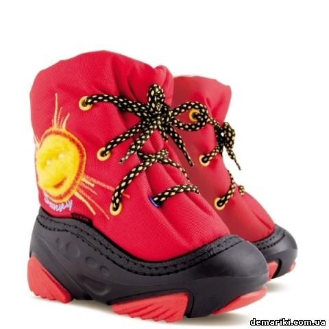 SUNNY а (красный) демар детские сапожки 386921716bb1f