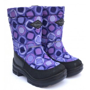 Сапоги Kuoma Putkivarsi 130302-0204 Violet-Ball (Фиолетовые шары) 20-26р
