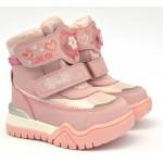 Термоботинки Tom M 9370e Pink, зимние детские сапоги на девочку