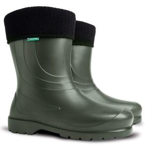 Резиновые сапоги DEMAR LAURA 0230B1 (зеленые)