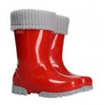 Резиновые сапоги DEMAR TWISTER LUX 0406B (красные)