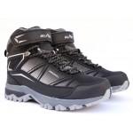 Термоботинки B&G EVS21-18/042328 черные, ботинки на мембране