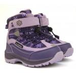 Термоботинки B&G R20-207 фиолет, сапоги на мембране