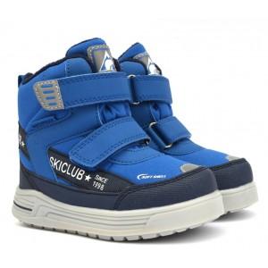 Термоботинки B&G TKT-4/01 синие, сапоги на мембране