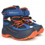 Термоботинки B&G R20-202 сине-оранжевый, сапоги на мембране