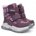 Термоботинки Tom M 9588E Purple, зимние детские сапоги