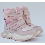 Термоботинки Tom M 9525A Pink, зимние детские сапоги