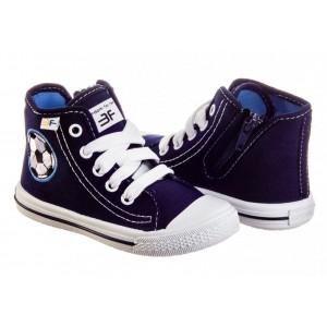 3F тапочки Spider 3sp40-4 Кеды синие для мальчиков и девочек
